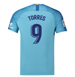 2018-19 Atletico Madrid Away Football Shirt (Torres 9)