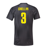 2018-19 Juventus Third Football Shirt (Chiellini 3) - Kids