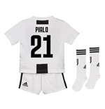 2018-19 Juventus Home Mini Kit (Pirlo 21)