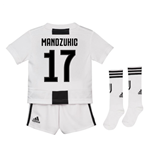 2018-19 Juventus Home Mini Kit (Mandzukic 17)