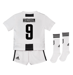 2018-19 Juventus Home Mini Kit (Higuain 9)