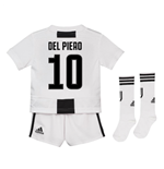 2018-19 Juventus Home Mini Kit (Del Piero 10)