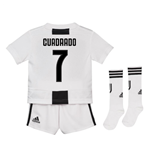 2018-19 Juventus Home Mini Kit (Cuadrado 7)