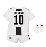 2018-19 Juventus Home Baby Kit (Del Piero 10)