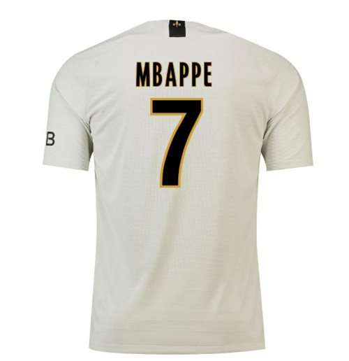 pretty nice 03658 383b8 2018-19 Psg Away Football Shirt (Mbappe 7) - Kids