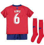 2018-2019 Atletico Madrid Home Nike Little Boys Mini Kit (Koke 6)