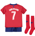 2018-2019 Atletico Madrid Home Nike Little Boys Mini Kit (Griezmann 7)