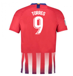 2018-2019 Atletico Madrid Home Nike Football Shirt (Torres 9)
