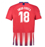 2018-2019 Atletico Madrid Home Nike Football Shirt (Diego Costa 18) - Kids