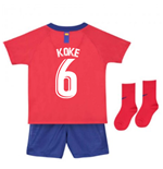 2018-2019 Atletico Madrid Home Nike Baby Kit (Koke 6)