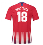 2018-2019 Atletico Madrid Authentic Vapor Match Home Nike Shirt (Diego Costa 18)