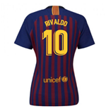 2018-2019 Barcelona Home Nike Ladies Shirt (Rivaldo 10)
