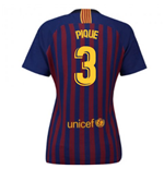 2018-2019 Barcelona Home Nike Ladies Shirt (Pique 3)