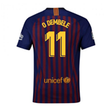 2018-2019 Barcelona Home Nike Football Shirt (O Dembele 11) - Kids