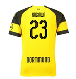 2018-2019 Borussia Dortmund Puma Home Football Shirt (Kagawa 23)