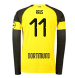 2018-2019 Borussia Dortmund Home Long Sleeve Puma Shirt (Reus 11)