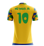 2018-2019 Brazil Home Concept Football Shirt (Neymar Jr 10) - Kids