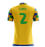 2018-2019 Brazil Home Concept Football Shirt (Cafu 2)