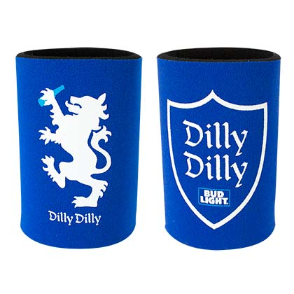 BUD LIGHT Dilly Dilly Double Sided Can Cooler