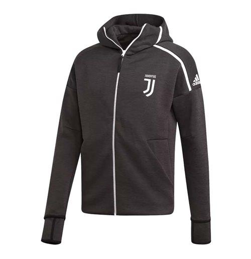 2018-2019 Juventus Adidas Zne 3.0 Anthem Jacket (Grey)