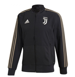 2018-2019 Juventus Adidas Woven Presentation Jacket (Black)