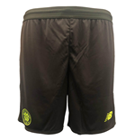 2018-2019 Celtic Elite Knitted Training Shorts (Grey)