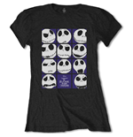 The Nightmare Before Christmas Ladies Tee: Blockheads