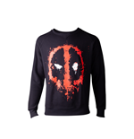 Deadpool - Dripping Face Men's Sweater