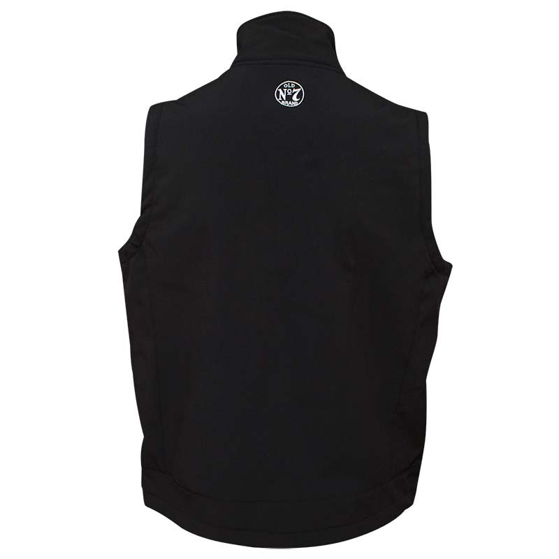 Jack Daniel's Softshell Men's Black Vest