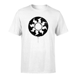 Magic the Gathering T-Shirt White Mana Splatter