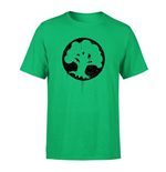 Magic the Gathering T-Shirt Green Mana Splatter