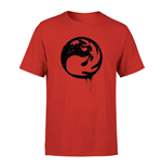 Magic the Gathering T-Shirt Red Mana Splatter