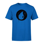 Magic the Gathering T-Shirt Blue Mana Splatter