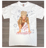 Madonna Men's Tee: Re-invention Tour LA (Ex Tour)