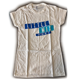 Little Mix Ladies Tee: Dark Multi Blue Logo (Ex Tour)
