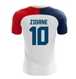2018-19 France Away Concept Shirt (Zidane 10) - Kids