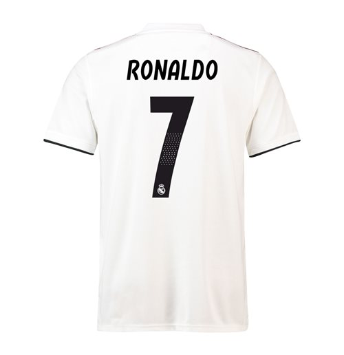 huge discount 13354 77673 2018-19 Real Madrid Home Football Shirt (Ronaldo 7)