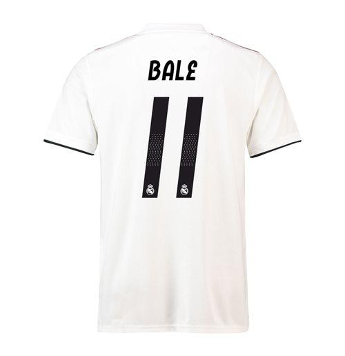 quality design b154e dacb6 2018-19 Real Madrid Home Football Shirt (Bale 11) - Kids