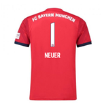 2018-2019 Bayern Munich Adidas Home Football Shirt (Neuer 1)
