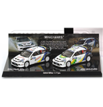 SET FORD FOCUS RS WRC MEXICO 2004 DOUBLE WINNERS RALLY MEXICO 2004 MAERTIN PARK DUVAL