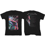 Bullet For My Valentine Men's Tee: Gravity Euro Tour 2018 (Ex Tour/Back Print)
