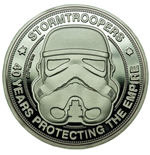 Original Stormtrooper Collectable Coin 40 Years Protecting The Empire