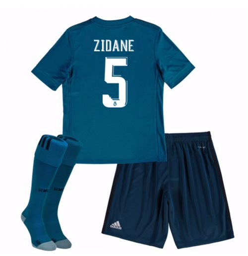 pretty nice a1903 4caca 2017-18 Real Madrid Third Mini Kit (Zidane 5)