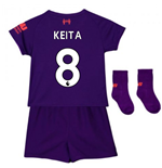 2018-2019 Liverpool Away Baby Kit (Keita 8)