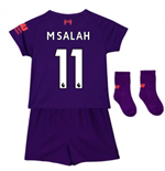 2018-2019 Liverpool Away Baby Kit (M Salah 11)