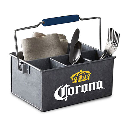 Corona Legacy Metal Condiment Caddy