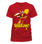 Shazam - Shazam Pose - Unisex T-shirt Red