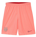 2018-2019 Barcelona Third Nike Football Shorts Pink (Kids)