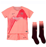 2018-2019 Barcelona Third Nike Little Boys Mini Kit