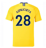 2018-2019 Chelsea Away Nike Football Shirt (Azpilicueta 28)